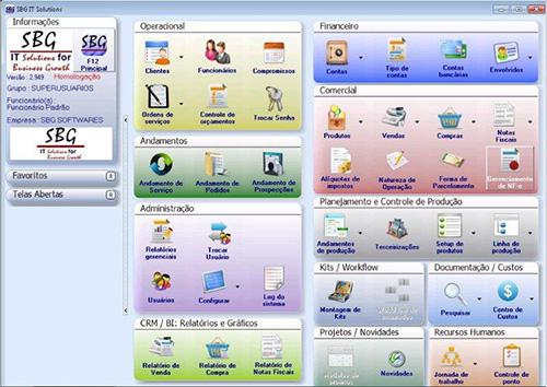 Sistema ERP Teste Gratuito - Software Gestão Teste