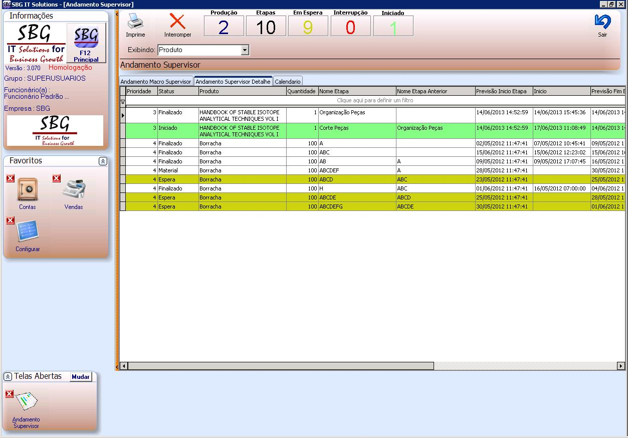 Software ERP PCP